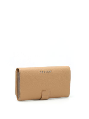 Orciani: wallets & purses online - Soft grained leather wallet