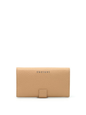 Orciani: wallets & purses - Soft grained leather wallet