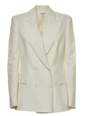 P.A.R.O.S.H.: blazers - Double-breasted jacket in white