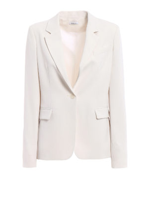 P.A.R.O.S.H.: blazers - Pantery one button cady blazer