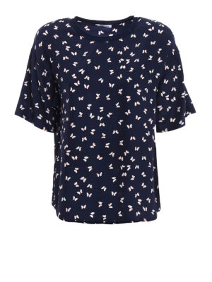 P.A.R.O.S.H.: blouses - Simpaty printed silk blouse