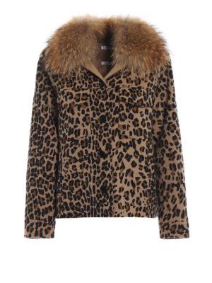 P.A.R.O.S.H.: giacche casual - Giacca Lopar con collo di pelliccia