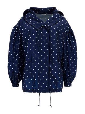 P.A.R.O.S.H.: casual jackets - Polka dot patterned jacket