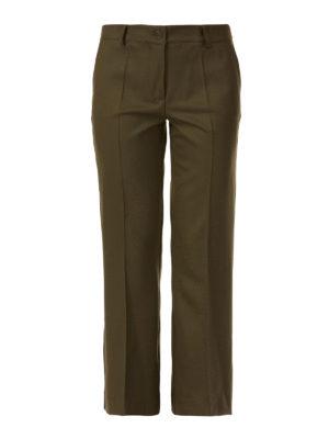 P.A.R.O.S.H.: pantaloni casual - Pantaloni chino bootcut Liliu in lana stretch
