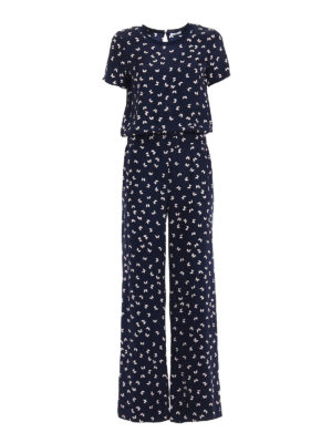 P.A.R.O.S.H.: jumpsuits - Simpaty printed silk jumpsuit