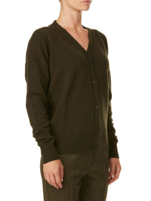 P.A.R.O.S.H.: cardigan online - Cardigan Lafox in lana e cashmere