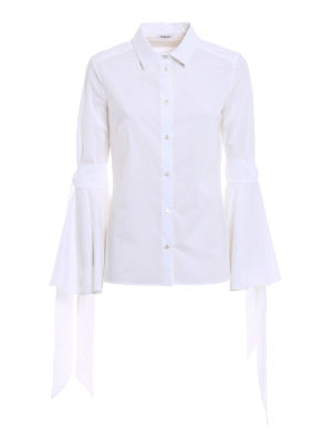 P.A.R.O.S.H.: shirts - Chiara cotton poplin shirt