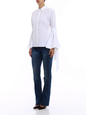 P.A.R.O.S.H.: shirts online - Chiara cotton poplin shirt
