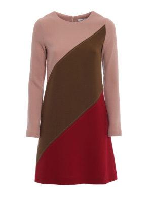 P.A.R.O.S.H.: abiti corti - Abito Lachix in lana color block