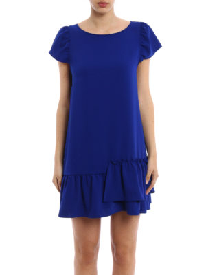 P.A.R.O.S.H.: short dresses online - Panterax crepe cady short dress