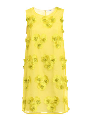 P.A.R.O.S.H.: short dresses - Pytti embroidered organdie dress