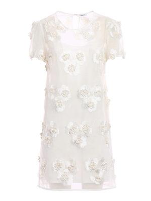 P.A.R.O.S.H.: short dresses - Pytti white organdie dress