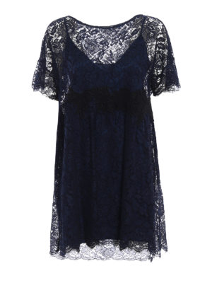 P.A.R.O.S.H.: short dresses - Rift broderie anglaise dress