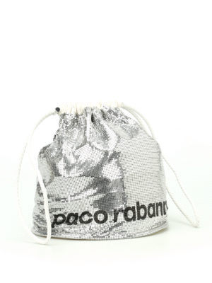 Paco Rabanne: Bucket bags online - Reversible bucket bag