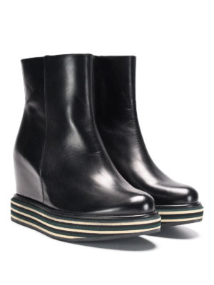 Paloma Barcelò: ankle boots online - Virginia brushed leather bootie