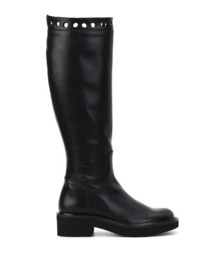 Paloma Barcelò: boots - Missouri brushed leather boots