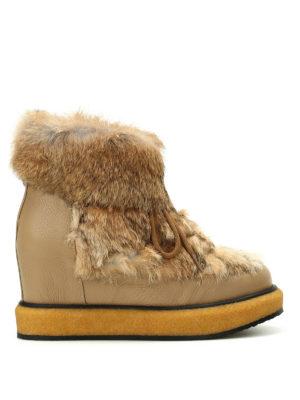 Paloma Barcelò: boots - Ticino Kansas furry boots