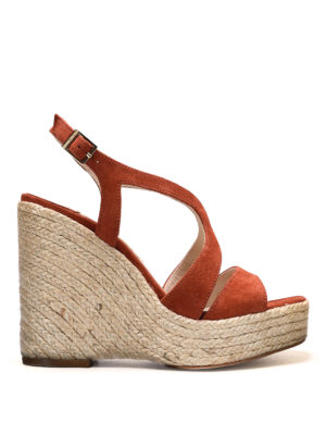 Paloma Barcelò: espadrilles - Fedry jute wedge sandals