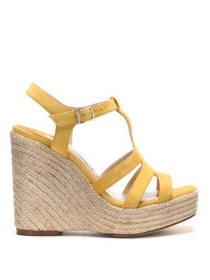Paloma Barcelò: espadrilles - Ferelle jute wedge sandal