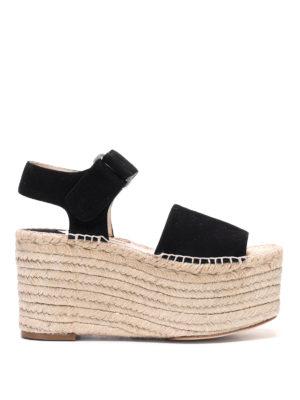 Paloma Barcelò: espadrilles - Grabrielle jute wedge sandals
