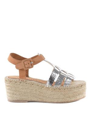 Paloma Barcelò: espadrilles - Honoria leather sandals