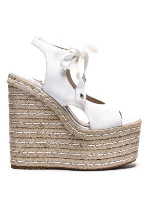 Paloma Barcelò: espadrilles - Lauris jute wedge sandals