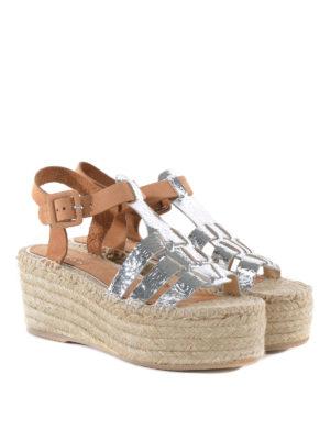 Paloma Barcelò: espadrilles online - Honoria leather sandals