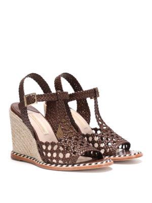 Paloma Barcelò: espadrilles online - Saint Raphael jute wedge sandal