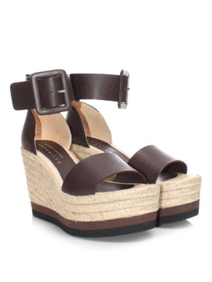 Paloma Barcelò: espadrilles online - Will leather wedges