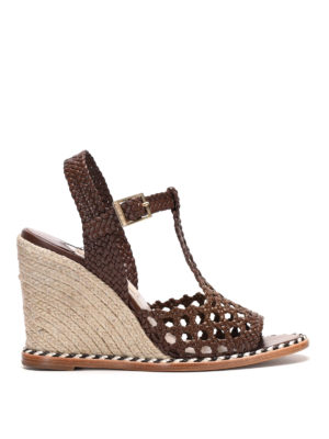 Paloma Barcelò: espadrilles - Saint Raphael jute wedge sandal