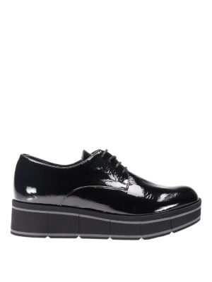 Paloma Barcelò: lace-ups shoes - Jurua Jill patent leather shoes