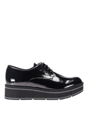 Paloma Barcelò: lace-ups shoes - Jurua patent leather lace-ups