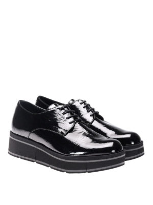 Paloma Barcelò: lace-ups shoes online - Jurua Jill patent leather shoes