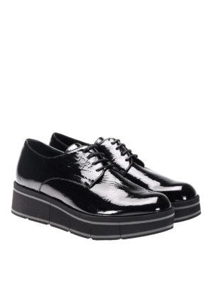 Paloma Barcelò: lace-ups shoes online - Jurua Jill patent leather shoes