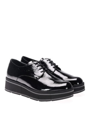 Paloma Barcelò: lace-ups shoes online - Jurua patent leather lace-ups
