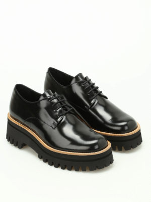 Paloma Barcelò: lace-ups shoes online - Niger Sunshine polished Derby shoes