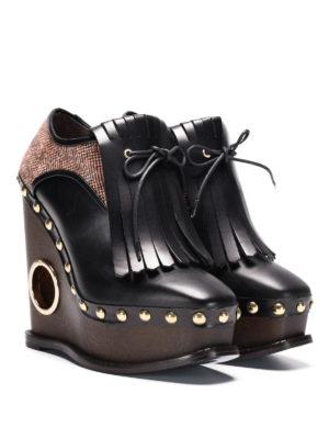 Paloma Barcelò: lace-ups shoes online - Orense wedged lace-ups