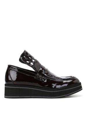 Paloma Barcelò: Loafers & Slippers - Jurua Duke patent leather loafers