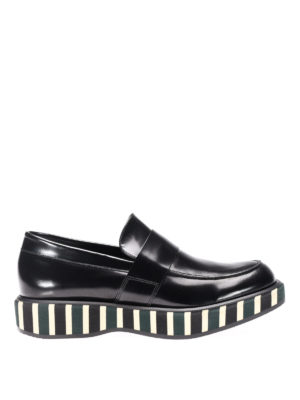 Paloma Barcelò: Loafers & Slippers - Lena striped sole loafers