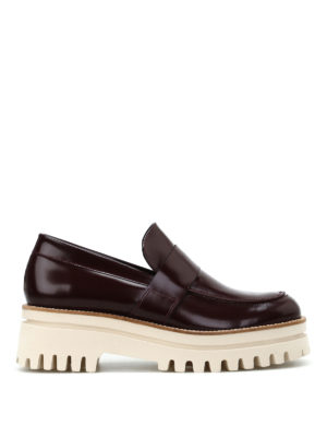 Paloma Barcelò: Loafers & Slippers - Niger maxi sole loafers