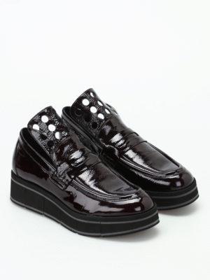 Paloma Barcelò: Loafers & Slippers online - Jurua Duke patent leather loafers