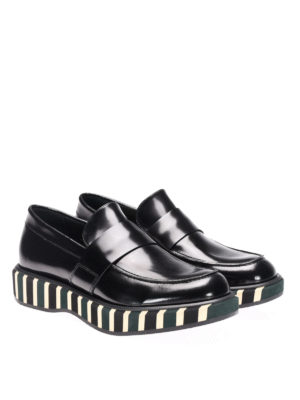 Paloma Barcelò: Loafers & Slippers online - Lena striped sole loafers