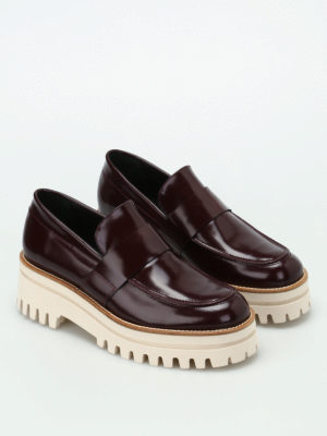 Paloma Barcelò: Loafers & Slippers online - Niger maxi sole loafers