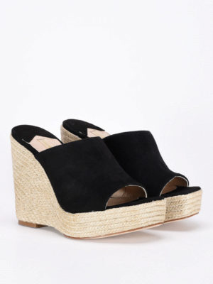Paloma Barcelò: mules shoes online - Clare suede wedges