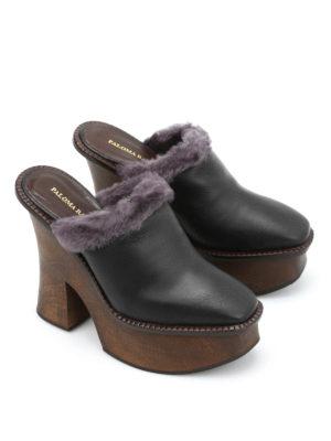 Paloma Barcelò: mules shoes online - Santander Panama mules