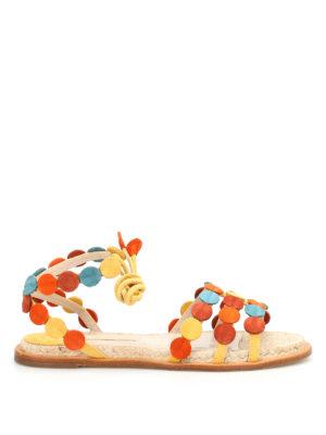 Paloma Barcelò: sandals - Antibes suede sandals
