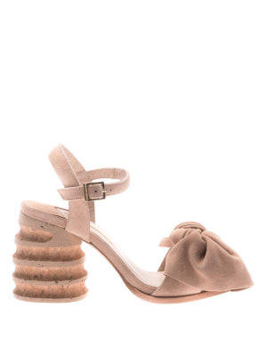 Paloma Barcelò: sandals - Begonia sandals with bow