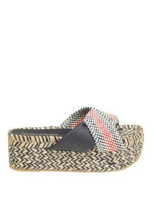 Paloma Barcelò: sandals - Elebolo flatform wedge sandals