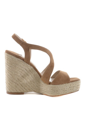 Paloma Barcelò: sandals - Fedry jute wedge sandals