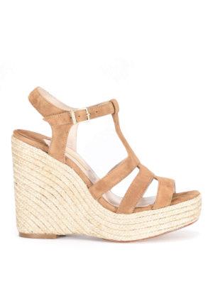Paloma Barcelò: sandals - Ferelle jute wedge sandal